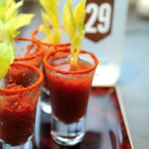 bloody mary granita tomato granita  © www.ice-cream-magazine.com