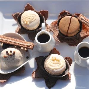 chocolate pancake stack © www.ice-cream-magazine.com