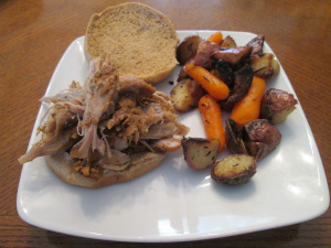 Cuban-Style Pulled Pork Roast Sandwich 008