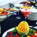 Fruit and vegetables catering event