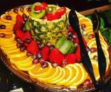 Fruit platter, catering event