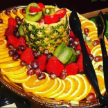 Fruit platter, catering event