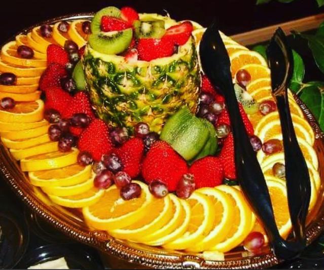designed  fruit platter