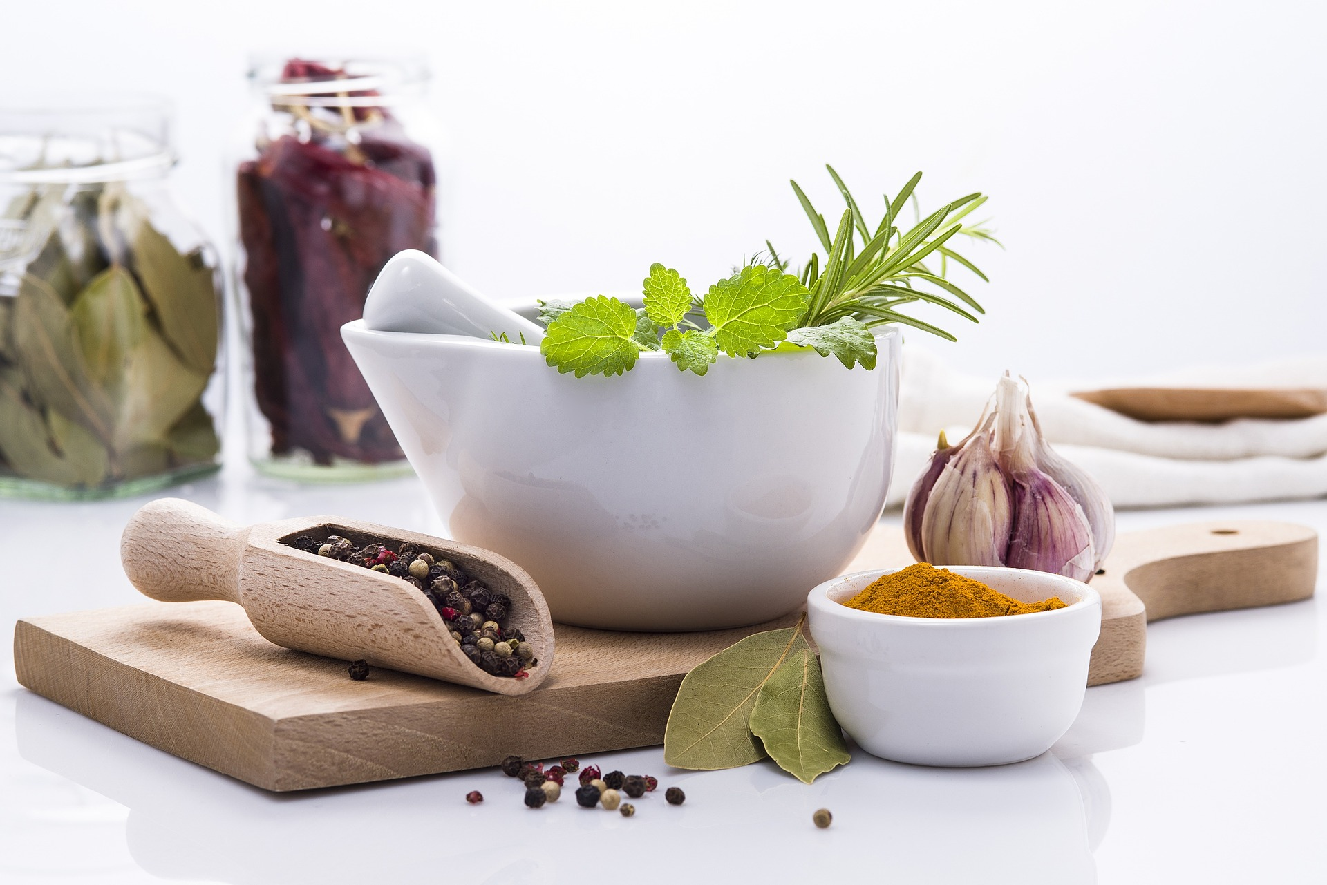 Knowing herbs to create flavors